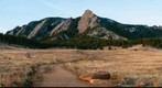 Flatirons at First Light