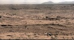 Panoramic View From &#39;Rocknest&#39; Position of Curiosity Mars Rover