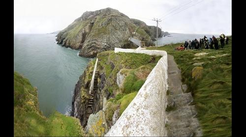South Stack, Anglesey, North Wales - geology