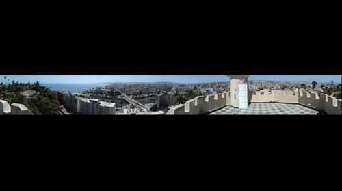 Viña del Mar desde el Castillo Brunet