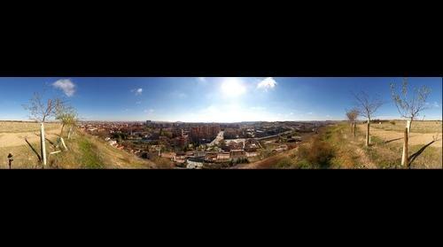 Valladolid desde Fuente el Sol 360º (35mm version)