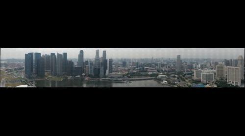 Singapore Skyline - Midday