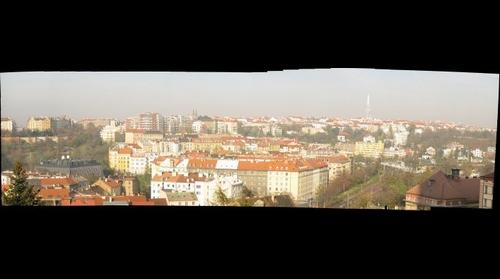 Panorama Nusle - Pankrac, Prague, Czech Republic