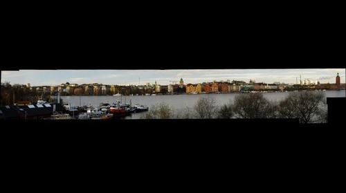 Stockholm a view over Kungsholmen