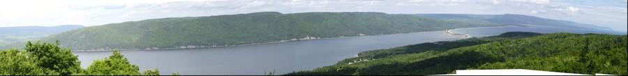 Saint Ann's Lookoff, Cape Breton, Nova Scotia, Canada