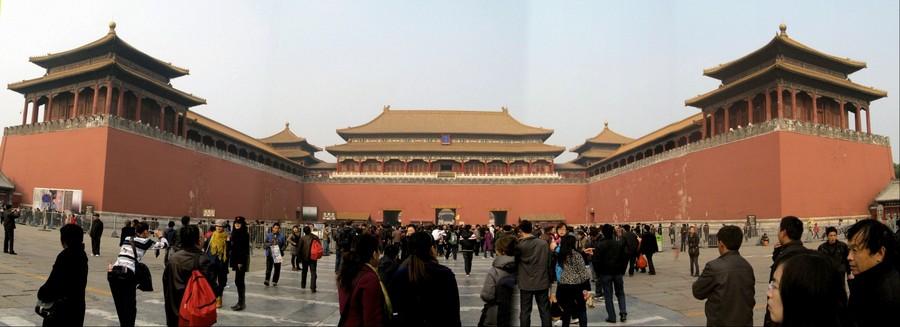 Wumen Gate (Meridian Gate), Forbidden City, Beijing