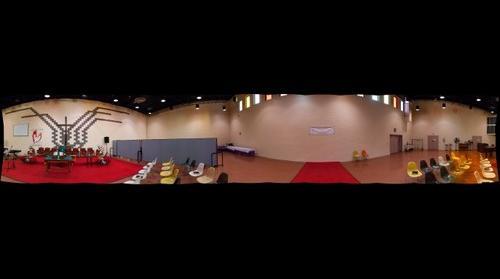 Incomplete 360 interior panorama
