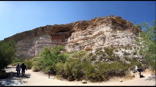Montezuma Castle National Monument, Az