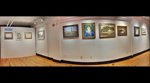 Hoboken Historical Museum, Upper Gallery, En plein Air: Seeking a Sensation, by Raymond Smith, November 11 - December 23, 2012