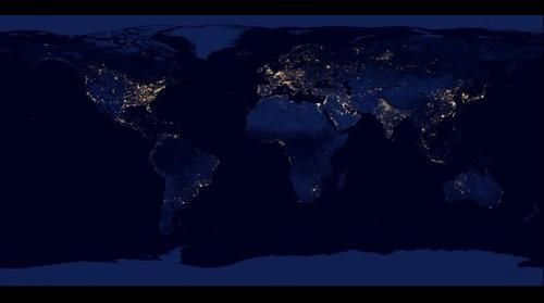 Earth at Night 2012: The Black Marble