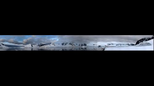 View from Ronge Island, Antarctica