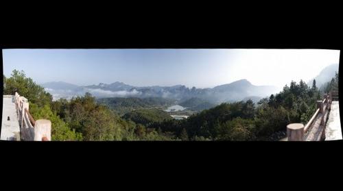 武夷山火焰山风光