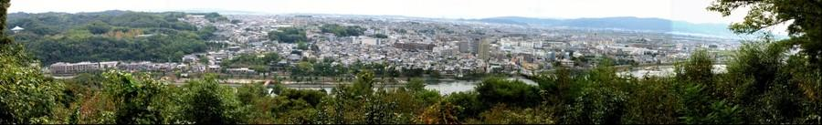 Uji, Japan, from Daikichi MountainA