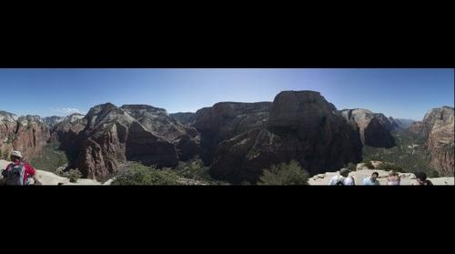Angels Landing -- View from the top