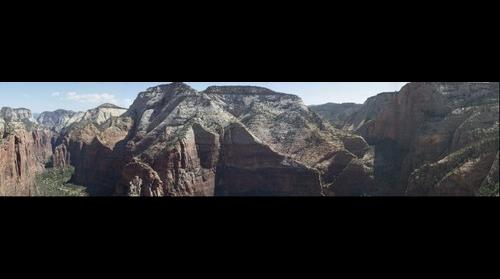 Observation Point Canyon Range
