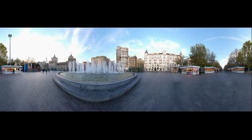 Plaza Zorrilla 360º - Valladolid