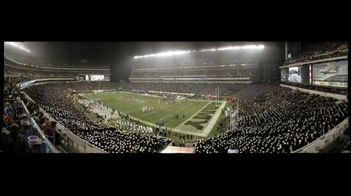 2012 Army-Navy Game: Army End Zone