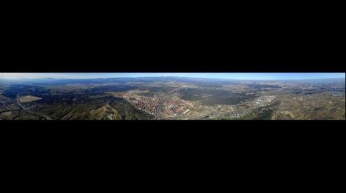 Vista aérea del Oeste de la Comunidad de Madrid