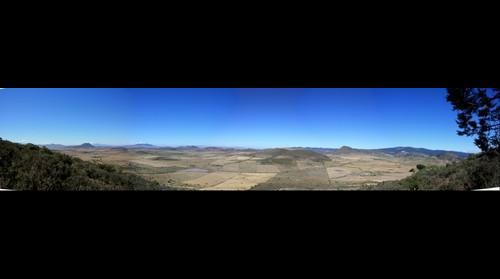 desde el cerro al oeste