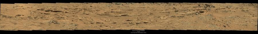 Sol 120 as seen from the Curiosity Rover on Mars