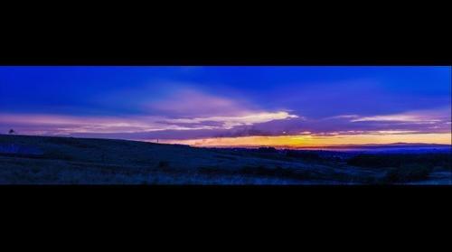 Sunset over Baia Mare