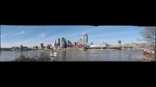View of Cincinnati from Newport, Kentucky