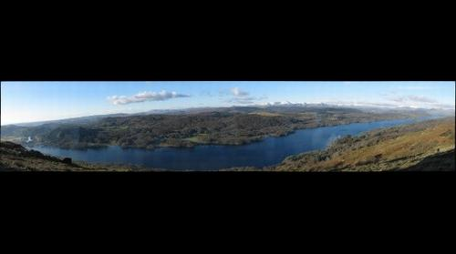 Lake Windermere from Gummes How