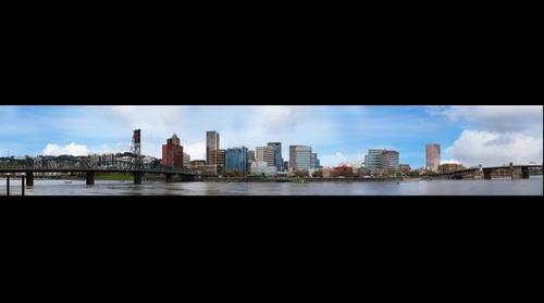 Portland West bank