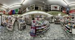 360° Book shop in Italy