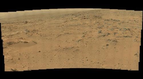 MastCam Right Sol 110 panorama
