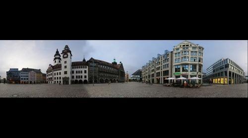 Chemnitz Market Saxony Germany