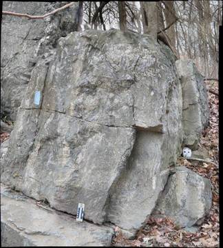 Migmatite on the Billy Goat Trail