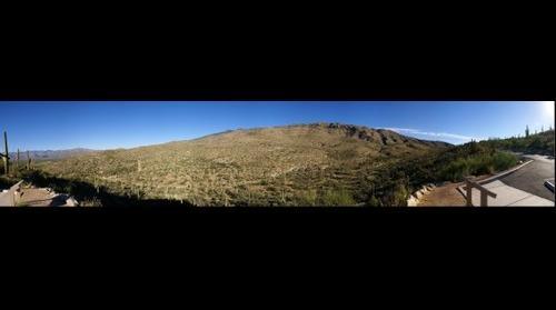 The Rincon Mountains, Arizona