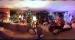 christmas room 360 at night