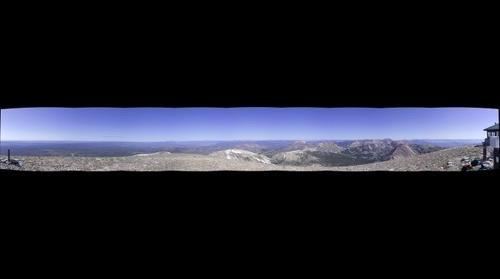 Mount Holmes - 240 - 2007  270 panorama