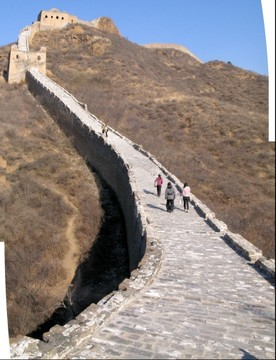 Great Wall at Jinshanling, China