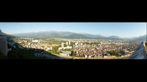 Grenoble from La Bastille
