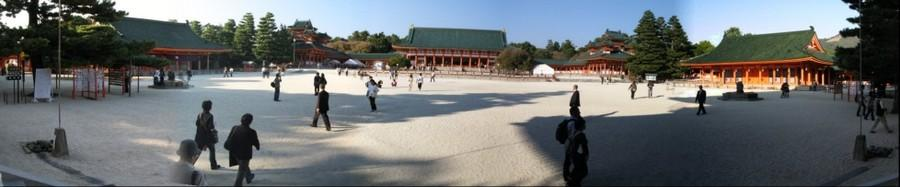 Heian Shrine compound, Kyoto, Japan