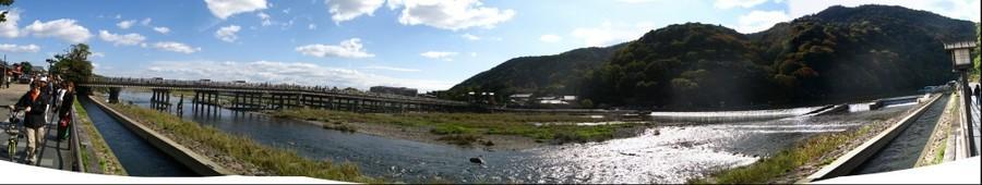 Togetsu-kyo Bridge, Arashiyama, Kyoto, Japan