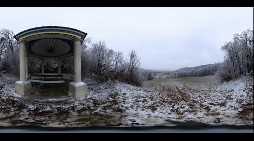 Frozen Forest in Kalksburg