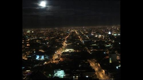 Guadalajara East at Night