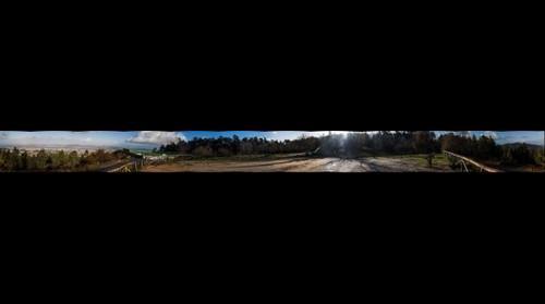 Panoramica desde el mirador de Beade (Vigo)