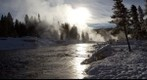 Firehole River at Sunrise