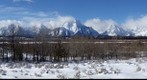 Mount Moran and Grand Teton