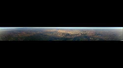 Madrid desde algunos metros por encima de la Casa de Campo
