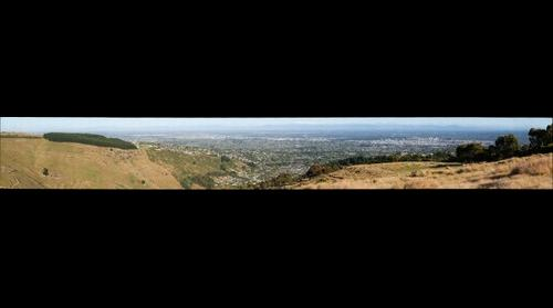 View of Christchurch from Huntsbury #9