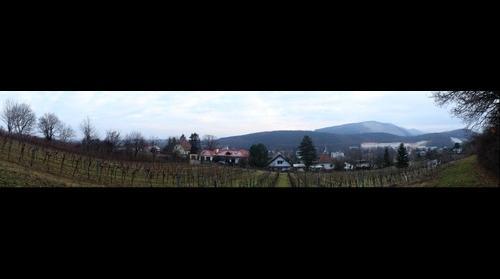 Kalksburg as seen from Zemlinskygasse