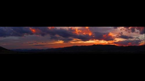 Kiewa Valley Sunset