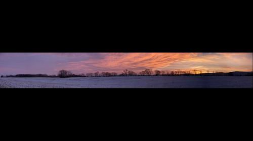 Sunrise in Charles Town, WV