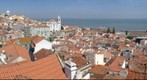 Lisboa, roofs of the old town